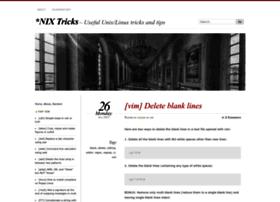 nixtricks.wordpress.com