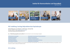 nlp-trainings-tille.de