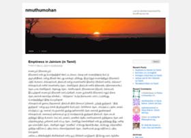 nmuthumohan.wordpress.com