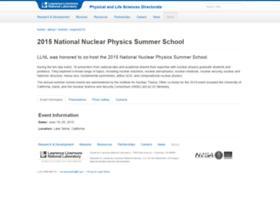 Nnpss2015.llnl.gov
