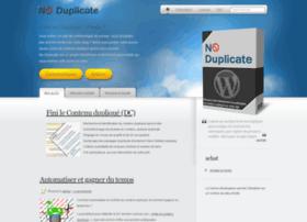 no-duplicate.fr