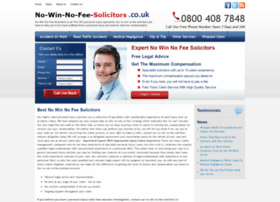 no-win-no-fee-solicitors.co.uk