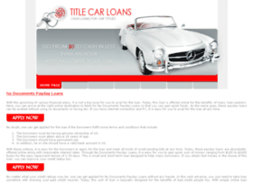 no.documents.payday.loans.titlecarloans.net