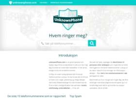 no.unknownphone.com