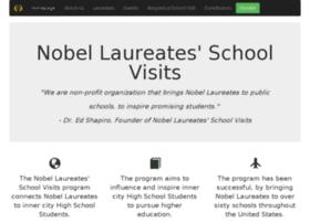 nobellaureatesschoolvisits.org