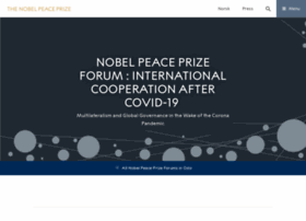 nobelpeaceprizeforum.org