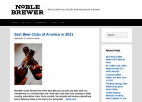 noblebrewerbeer.com