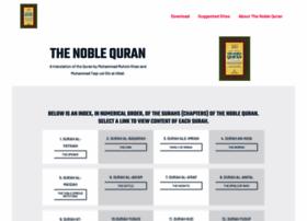 noblequran.com