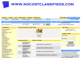 nocostclassifieds.com