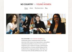 nocountryforyoungwomen.com