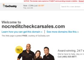 nocreditcheckcarsales.com