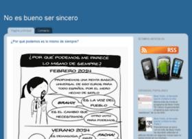 noesbuenosersincero.blogspot.com