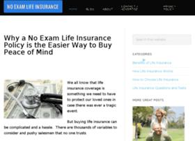 noexamlifeinsuranceguide.com