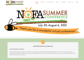 nofasummerconference.org