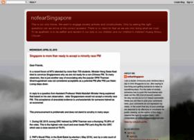 nofearsingapore.blogspot.sg
