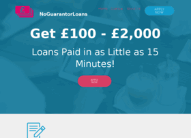 noguarantorloans.co.uk