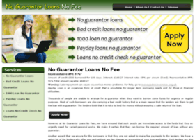 noguarantorloansnofee.co.uk