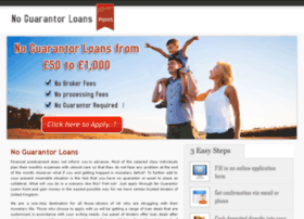 noguarantorloanspoint.co.uk
