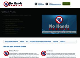 nohandsproxies.com