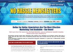 Nohasslenewsletters.com
