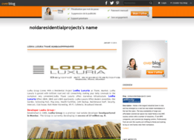 Noidaresidentialprojects.over-blog.com