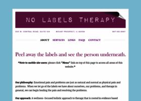 nolabelstherapy.com