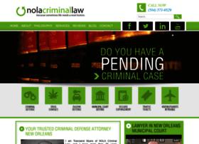 nolacriminallaw.com