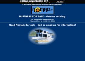 nomadhouseboats.com