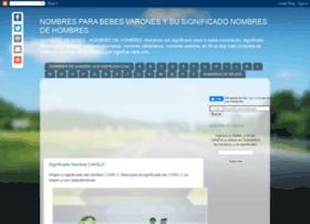 nombresparabebesvarones.blogspot.mx