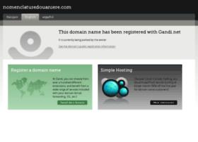 nomenclaturedouaniere.com