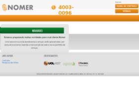 nomer.com.br
