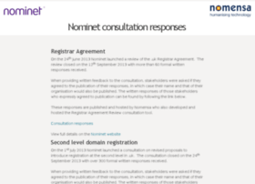 nominet.nomensa.com