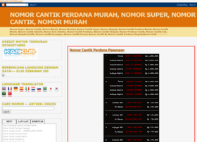 nomorcantikperdana.blogspot.com