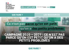 nonauharcelement.education.gouv.fr