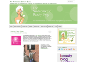 nononsensebeautyblog.com