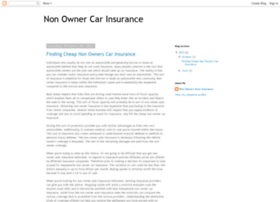 nonownercarinsurance.blogspot.com