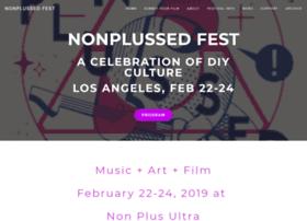 nonplussedfest.com