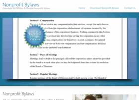 nonprofit-bylaws.com
