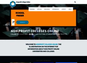 nonprofitcollegesonline.com