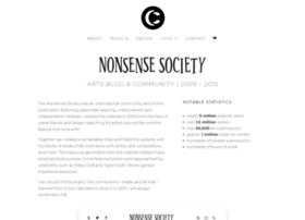 nonsensesociety.com
