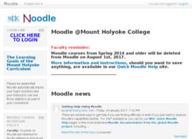 noodle.mtholyoke.edu