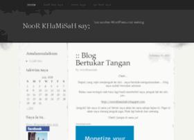 noorkhamisah.wordpress.com