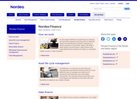 nordeafinance.com