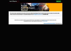 norfolkamericanlegionbaseball.siplay.com
