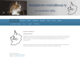 norjalainenmetsakissa.fi