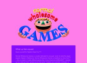 normalwholesomegames.com