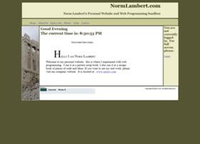 normlambert.com