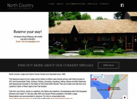 northcountrylodgeandcabins.com