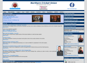 northerncricketunion.org