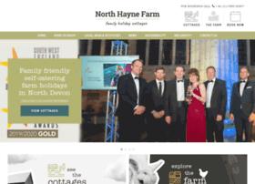 Northhaynefarmcottages.co.uk